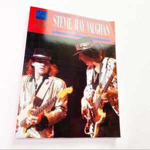 Vintage Stevie Ray Vaughn Bass Music Book Learning